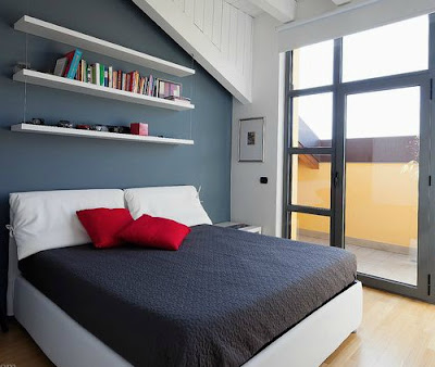pareti-carta-da-zucchero-camera da letto-moderna