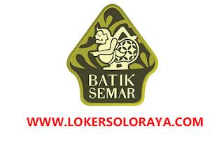Lowongan Kerja Admin E-Commerce di PT Batik Semar Surakarta