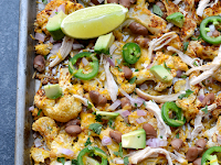 ONE-PAN CAULIFLOWER NACHOS