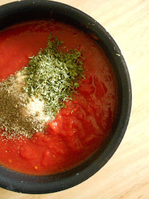 30 minute marinara #sweetsavoryeats #covid19