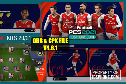 PATCH PES 2020 MOBILE ARSENAL BY IDSPHONE V4.6.1