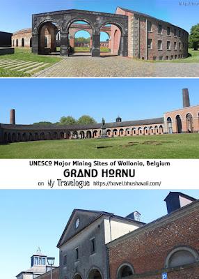UNESCO Major Mining Sites of Wallonia Belgium Grand Hornu Pinterest