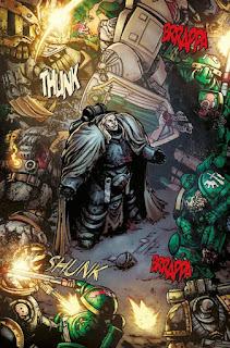 """Reseña de """"Warhammer 40.000: Caídos"""" de George Mann - ECC Ediciones"""