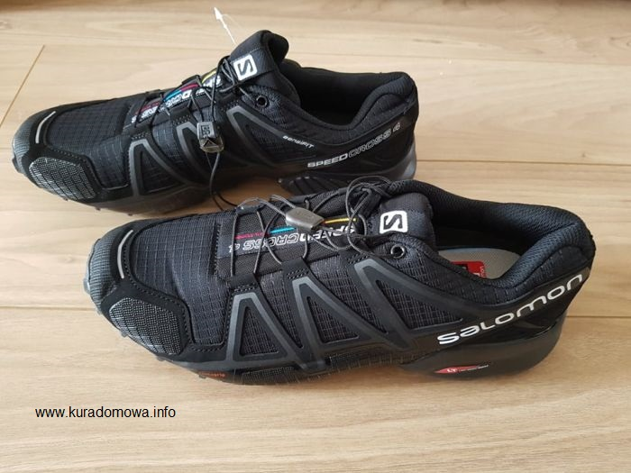 Buty Salomon Speedcross 4 Wide z AliExpress Kura Domowa