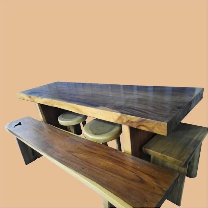 Meja dan Kursi Panjang