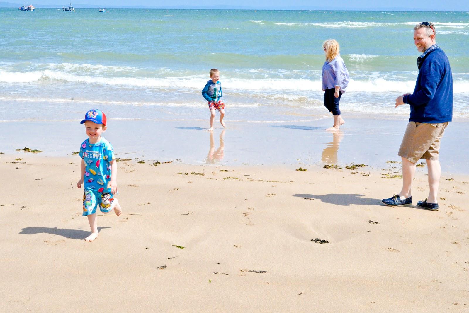 tenby beach pembrokeshire wales