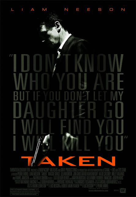 Taken with Liam Neeson - Movie Poster