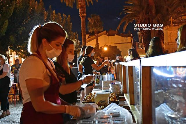 Την παραδοσιακή κουζίνα του Πόντου γνώρισαν ντόπιοι και επισκέπτες στο Ναύπλιο (βίντεο)