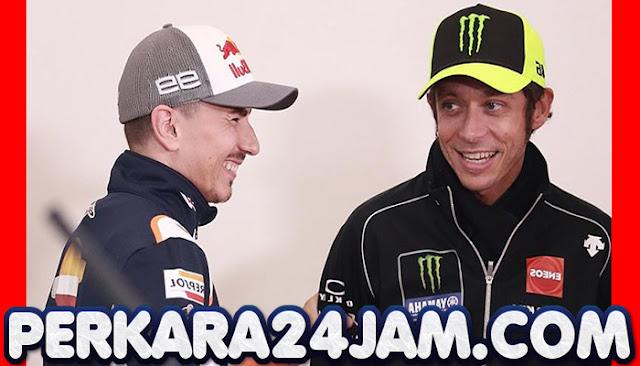 Jorge Lorenzo Bilang Kunci Rossi Agar Bisa Menang Di MotoGP Lagi