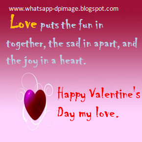 Cool Valentines Day Whatsapp DP Images for impressing Girlfriends