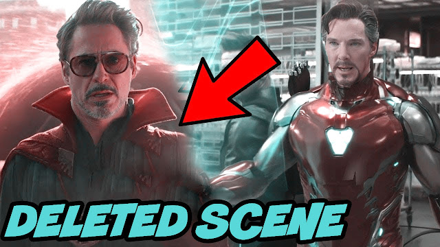 avengers infinity war - Iron Man  in Doctor Strange Cape