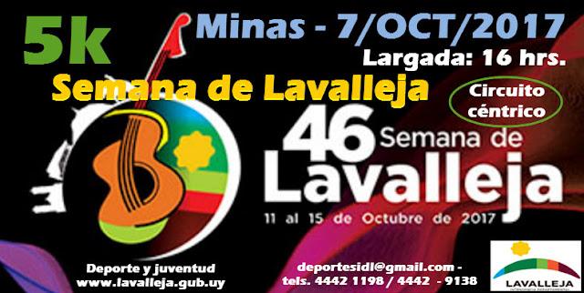 5k Semana de Lavalleja (Minas - LAV, 07/oct/2017)