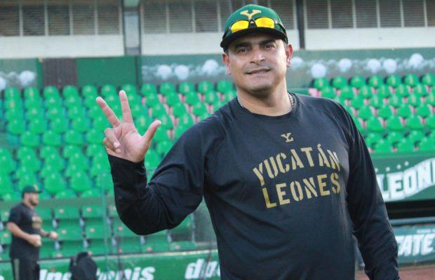Leones de Yucatán ratifican a Gerónimo Gil como manager