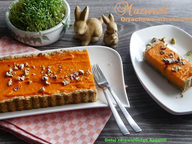 Mazurek orzechowo-marchewkowy - Czytaj więcej »