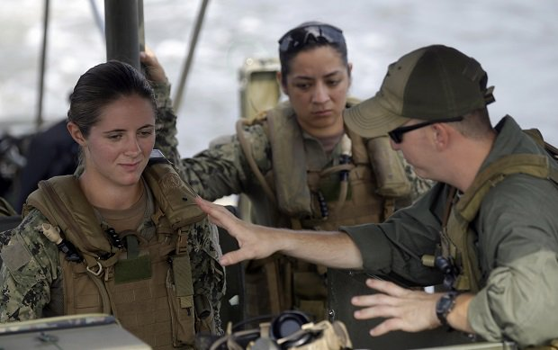 The First Woman In Navy SEAL
