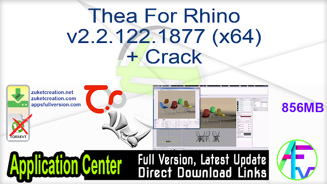 Thea For Rhino v2.2.122.1877 (x64) + Crack