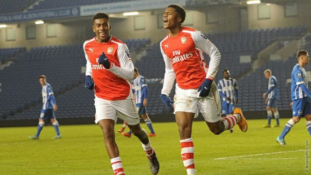 Iwobi nets brace in Arsenal's preseason win over Viking