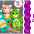 Ursinhos Carinhosos Fofos | Moldes Gratuitos!