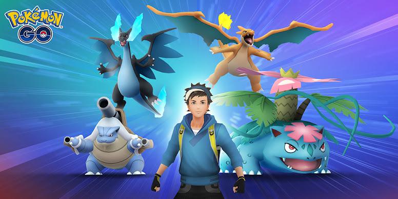 Mega Evolução Pokémon GO