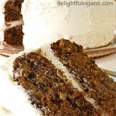 Prune Spice Cake / www.delightfulrepast.com
