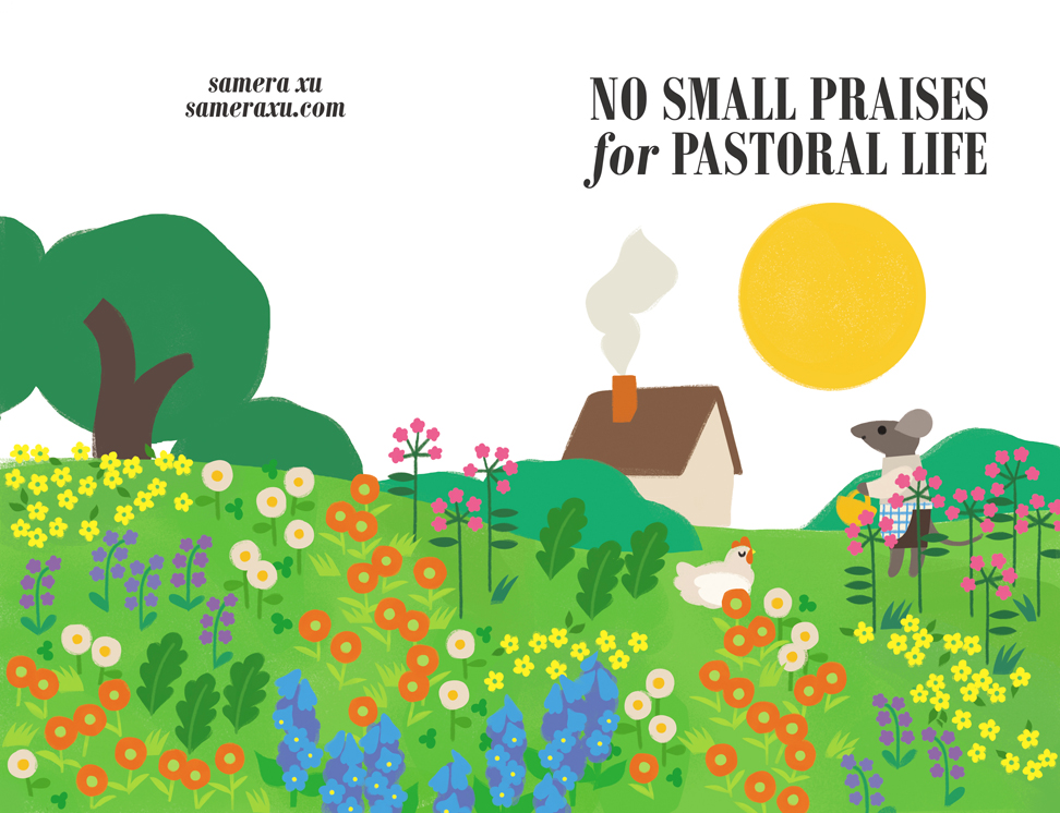 no small praises for pastoral life cover