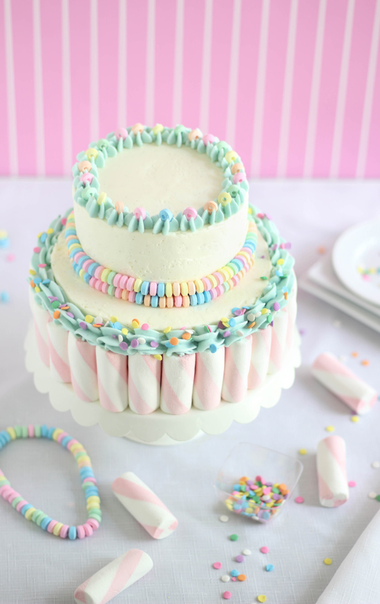 Sprinkle Me Happy Cake