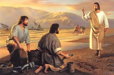 Jezus wzywa ludzi do nawrócenia i powołuje pierwszych apostołów | Homilie i  rozważania