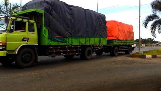 truk gandeng hino lohan