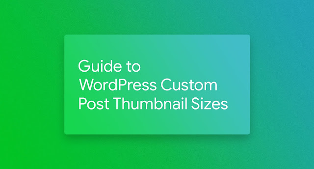 How to Change Thumbnail Size in WordPress and Why You Want To