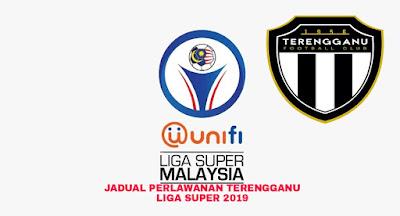 Jadual Perlawanan Terengganu Liga Super 2019