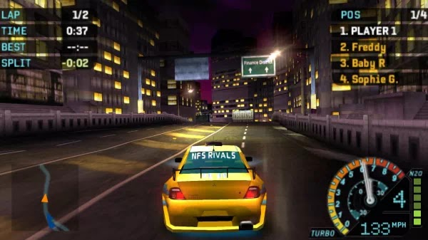 NEED FOR SPEED UNDERCOVER PSP USA ISO