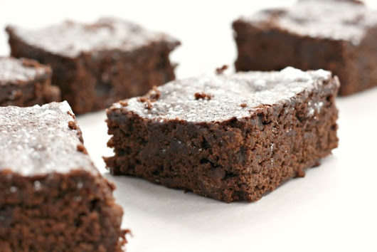 Fudgy Lentil Brownies