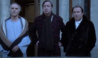 Michel Piccoli, Philippe Noiret et Ugo Tognazzi dans La Grande Bouffe, 1973.