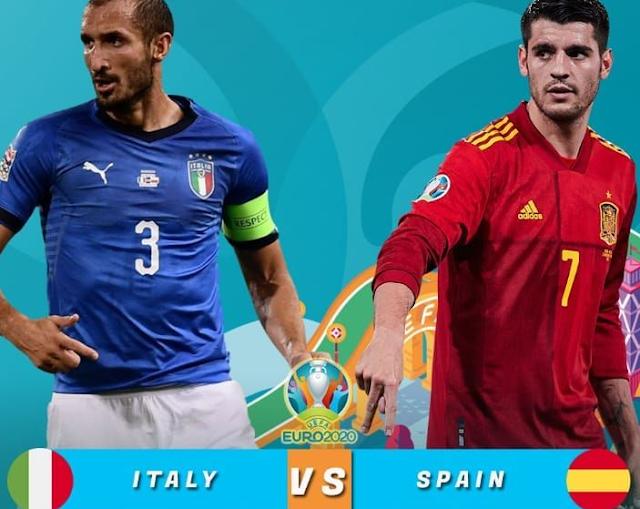 Link Live Streaming Euro 2021 Italy vs Spanyol GRATIS Malam Ini