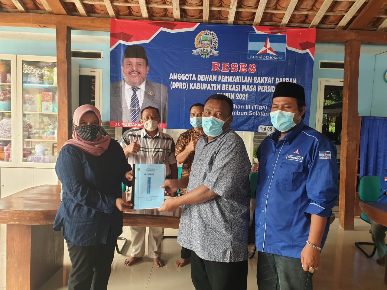Dua Legislator Senior DPRD Kabupaten Bekasi Serap Aspirasi di Dapilny