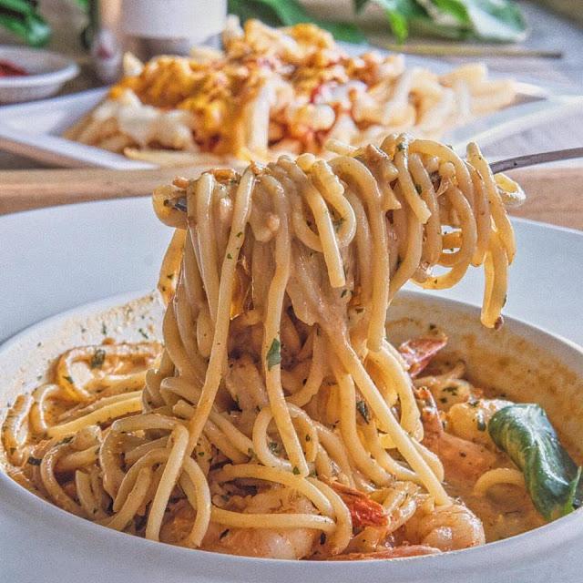 Laksa Spaghetti