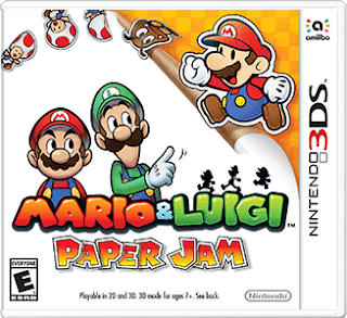 Mario y Luigi Paper Jam, 3DS, Español, Mega, Mediafire