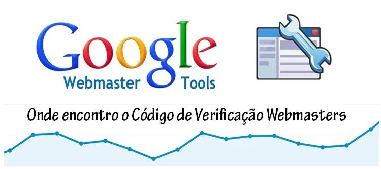Código de Verificação Webmasters