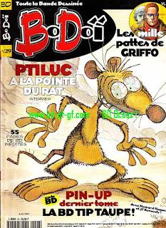 Pin-Up dernier tome, la bd tip taupe!