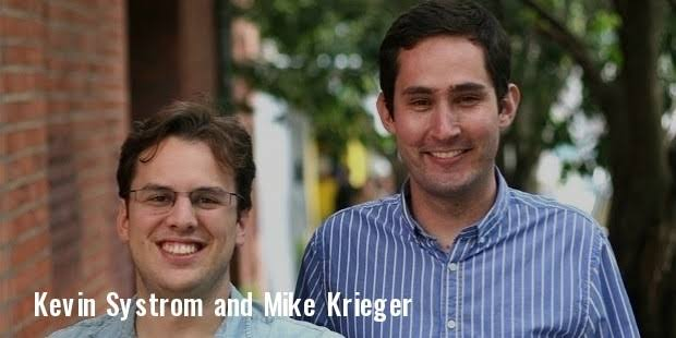 My blog : Kevin Systrom, Mike Krieger - Founder of instagram
