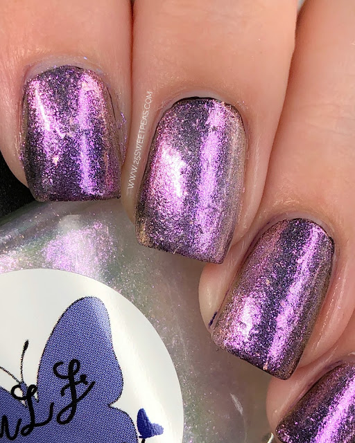 MLF Lacquer Butterfly Nebula 25 Sweetpeas