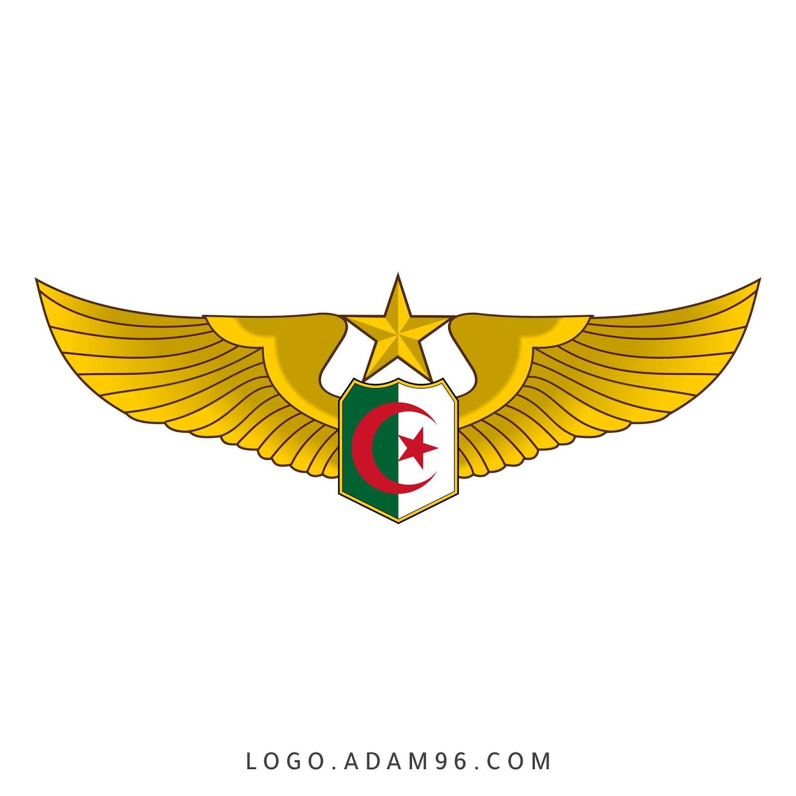 تحميل شعار القوات الجوية الجزائرية الشعار الرسمي بدقة عالية Png