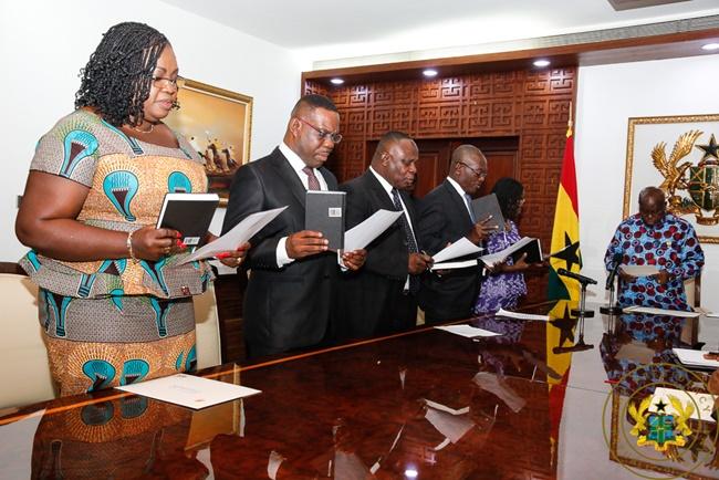President Inaugurates 5-Member Committee On Emoluments