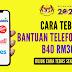 Cara Tebus Bantuan Telefon Pintar B40 RM300