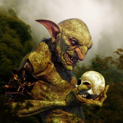 goblin and victim