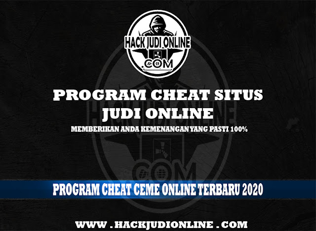 Program Cheat Ceme Online Terbaru 2020