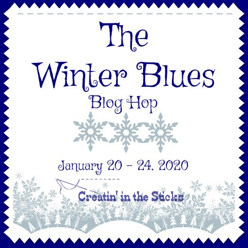 Winter Blue Blog Hop