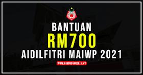 Tarikh Bayaran RM700 Bantuan Majlis Agama Islam WP Tahun 2021
