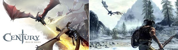 Comparison of Century Age of Ashes vs Skyrim