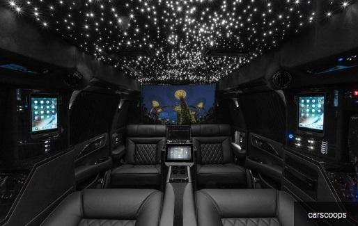 interior Cadillac Escalade garapan Lexani